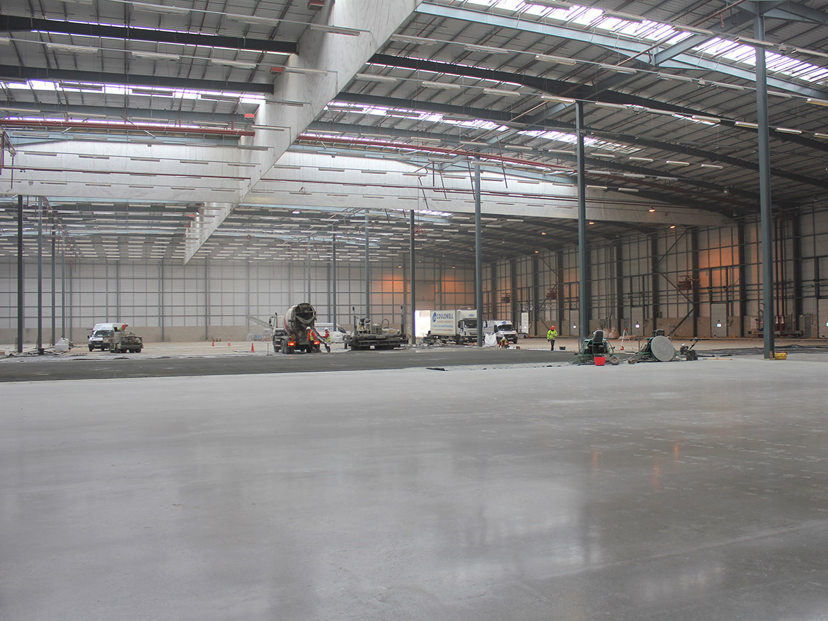 laser screed concrete flooring