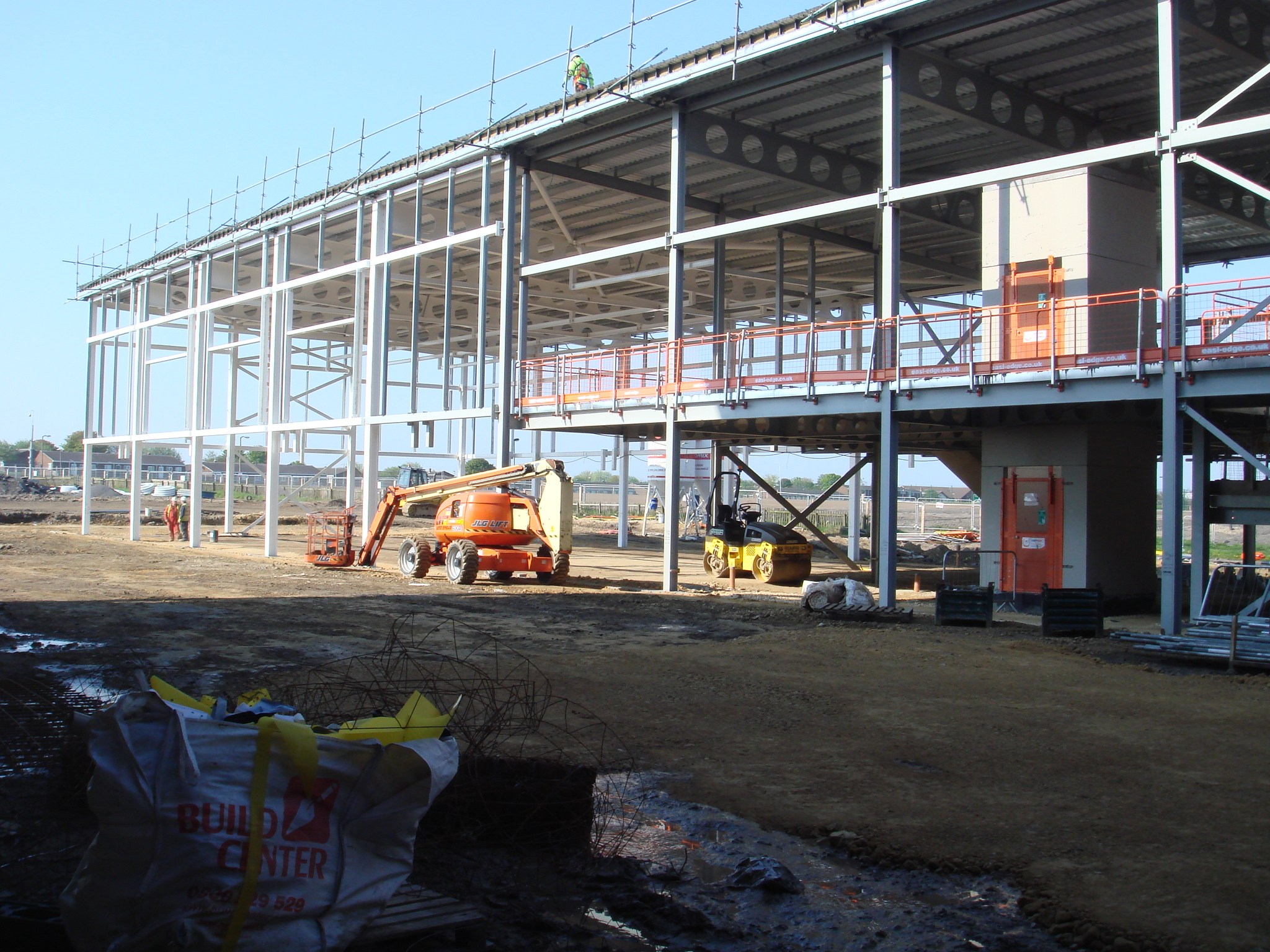 North Durham Academy Couldwell Concrete