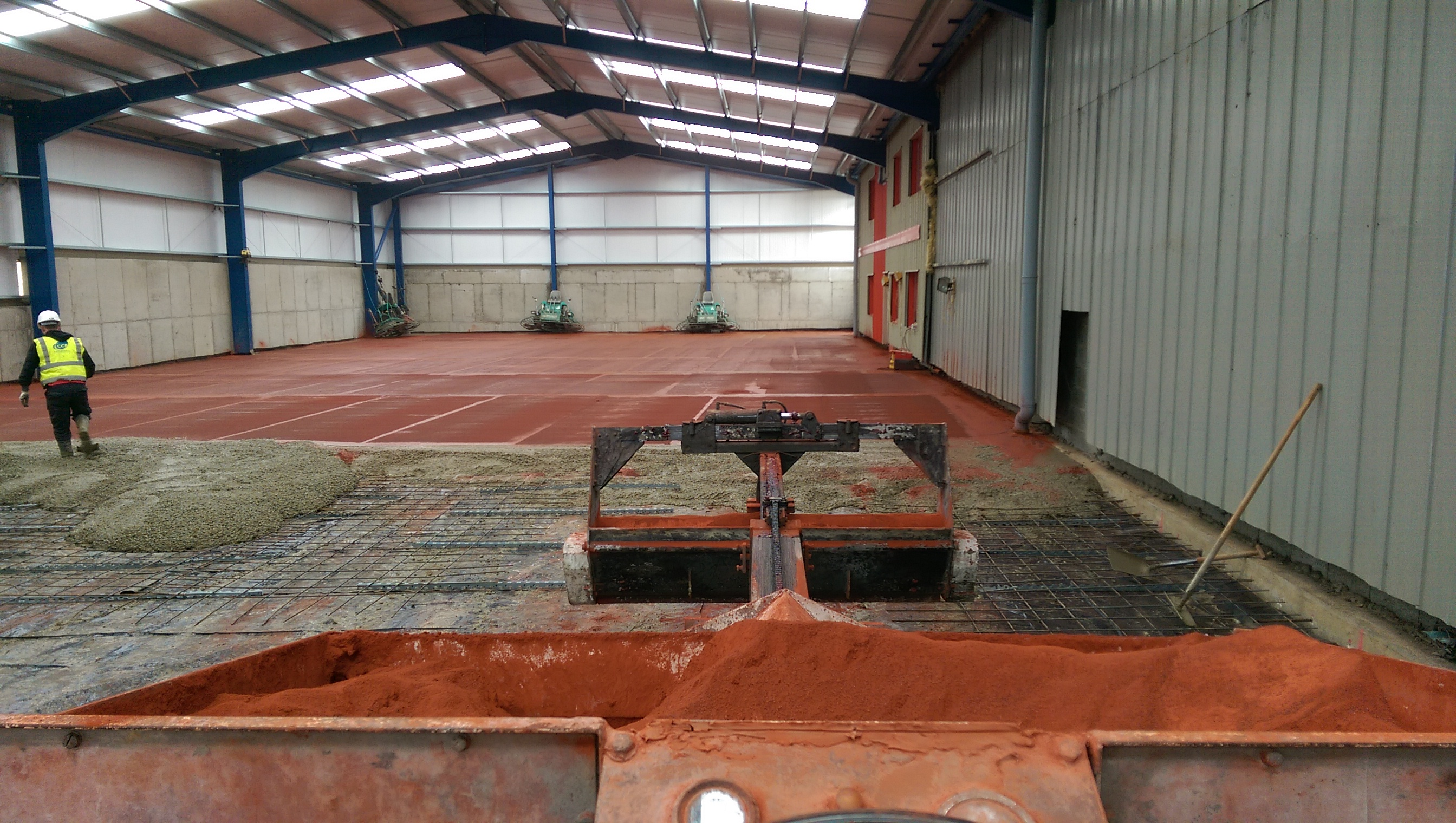 Specialist Application Dry Shake Topping Couldwell