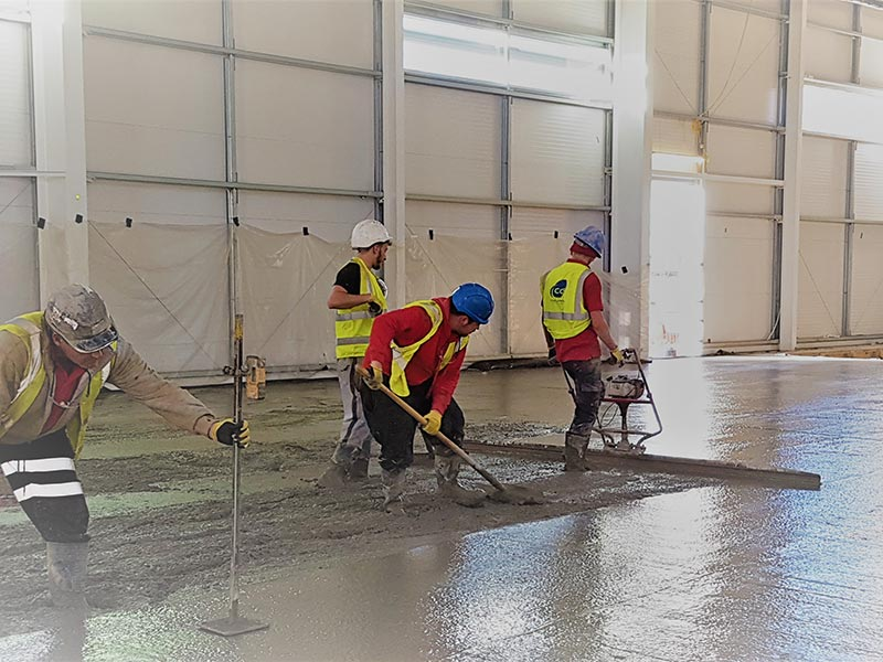 Couldwell Concrete Industrial Flooring Contractors